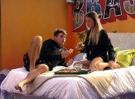 Ex-BBB Antônio, após sexo com Alyson, fica longe das câmeras com ela: 'Edredom'