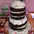 O bolo do chá de bebê de Bruna, segunda filha de Nivea Stelmann