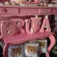Nivea Stelmann fez um chá de bebê para comemorar a chegada de sua filha, Bruna