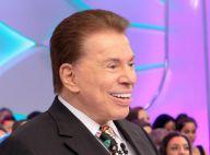 Silvio Santos volta a pintar o cabelo após aparecer com os fios brancos na TV