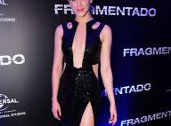 Sophia Abrahão usa look com decote e fenda em estreia de filme em SP. Fotos!