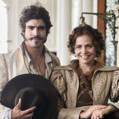 Caio Castro destaca química com Letícia Colin, par em 'Novo Mundo': 'Tive sorte'