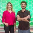 Felipe Andreoli estreia no comando do 'Esporte Espetacular', ao lado de Fernanda Gentil, neste domingo, 26 de março de 2017