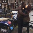 Fernanda Souza e Thiaguinho também curtiram passeios românticos em Amsterdã, na Holanda