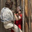 'O casal mais lindo que vocês respeitam', escreveu um internauta sobre Anna e Joaquim, papéis de Isabelle Drummond e Chay Suede na novela das seis 'Novo Mundo'