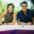 Sophia Abrahão fez sua estreia na bancada do 'Vídeo Show', da TV Globo, em fevereiro