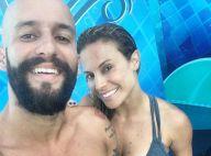 Maíra Charken, grávida, não planeja casamento com namorado: 'Vamos esperar'