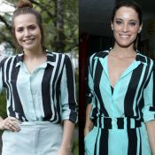 Letícia Colin brinca sobre coincidência fashion com Maria João: 'Só para musa'