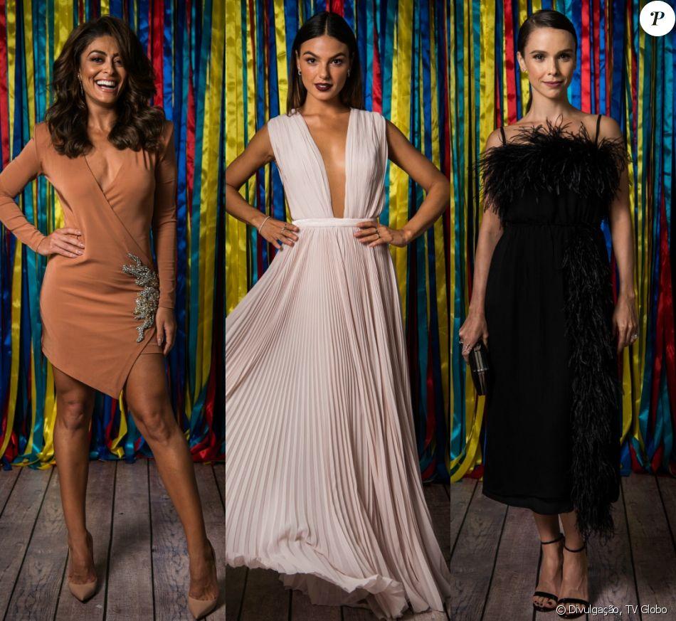 Juliana Paes, Isis Valverde, Débora Falabella e mais! Veja o look dos famosos na festa de lançamento da novela 'A Força do Querer'