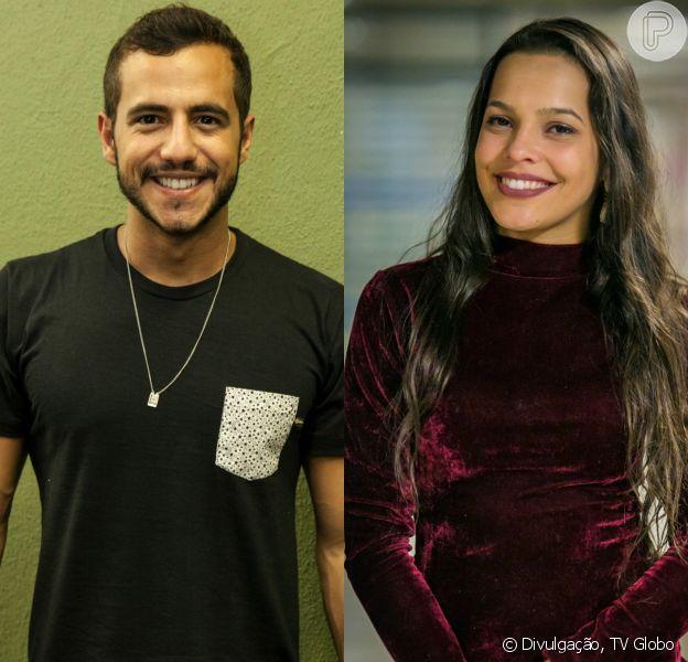 Os ex-BBBs Matheus Lisboa e Mayla foram vistos juntinhos, em uma balada, em 24 de março de 2017