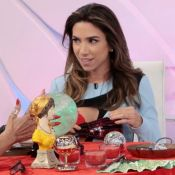 Patrícia Abravanel recebe conselho de taróloga: 'Sua energia está de gravidez'
