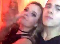 Vídeo! Thomaz Costa curte aniversário com Larissa Manoela e canta funk com atriz