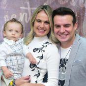 Belutti rebate crítica após a mulher dar fruta para o filho: 'Cuida da sua vida'