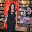 Carolina Ferraz é autora do livro 'Na Cozinha com Carolina'