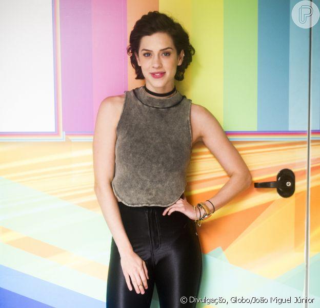 Sophia Abrahão negou que tenha feito teste para substituir Bruna Marquezine na novela 'Prova de Fogo' nesta segunda-feira, 27 de março de 2017