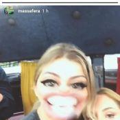Grazi Massafera se despede de 'A Lei do Amor' em vídeo e brinca: 'Última cena'
