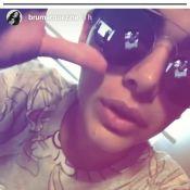 Bruna Marquezine brinca sobre corpo em dia de massagem: 'Acertei na magreza'