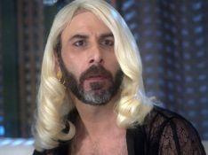 'A Lei do Amor': Hércules surge vestido como Mág em programa com Aline. Fotos!