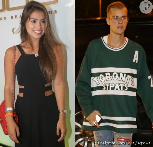 Ex-affair de Neymar, Gabriella Lenzi dá fora em Justin Bieber em festa em hotel Fasano no Rio de Janeiro