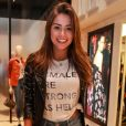 Gabriella Lenzi, de 22 anos, não aceitou convite de Justin Bieber de deixar festa no hotel Fasano para comemoração particular em uma mansão, no Joá
