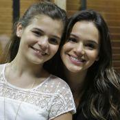 Bruna Marquezine comenta semelhança com a irmã, Luana: 'Bem fácil confundir'