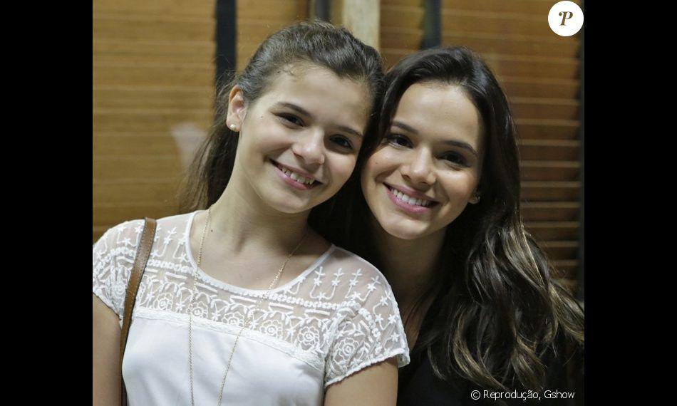 Resultado de imagem para Irmã de Bruna Marquezine impressiona pela semelhança com a atriz