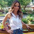 Ana Furtado abandonou as madeixas mais loiras para adotar o visual moreno: 'Nova mulher'