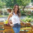 Ana Furtado costuma compartilhar seus looks com os fãs na web, através do seu Instagram pessoal
