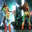 Anitta fez show lotado ao lado de Wesley Safadão no Jeunesse Arena, na Barra da Tijuca, na noite de sábado, 1 de abril de 2017
