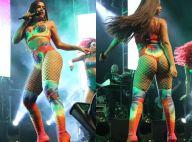 Anitta usa figurino ousado e recebe famosos em show com Wesley Safadão no Rio