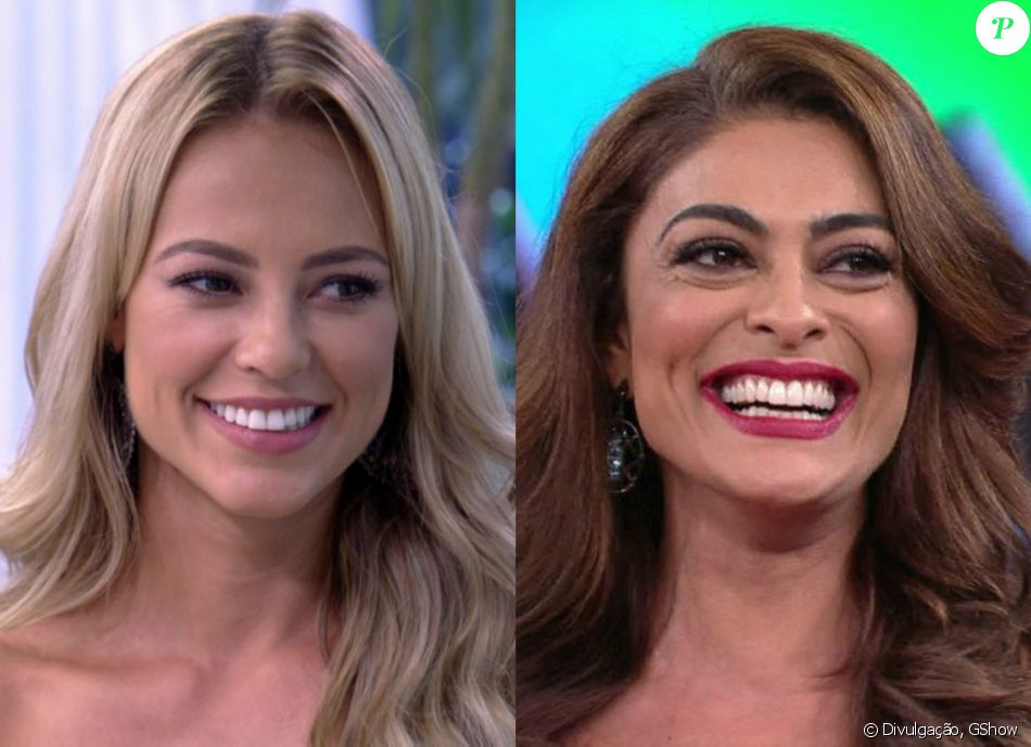 Juliana Paes e Paolla Oliveira foram ao 'Fantástico' deste domingo, 2 de abril de 2017, falar sobre suas personagens em 'A Força do Querer'