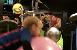 Bruna Marquezine filma David Lucca, filho de Neymar, brincando na Espanha. Vídeo