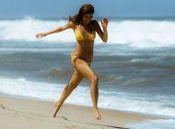 Sophie Charlotte grava de biquíni na praia cenas de 'Os Dias Eram Assim'. Fotos!