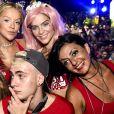 Isabella Santoni foram fotografados juntos no carnaval e foram vistos aos beijos no after-party de Justin Bieber no hotel Fasano, na semana passada