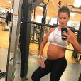 Andressa Suita costuma mostrar sua rotina fitness mesmo na gravidez nas redes sociais