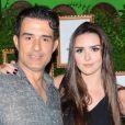 Marcos Pasquim e a produtora Aline Fernandez botaram ponto final no namoro. O ator havia assumido o relacionamento em setembro de 2015