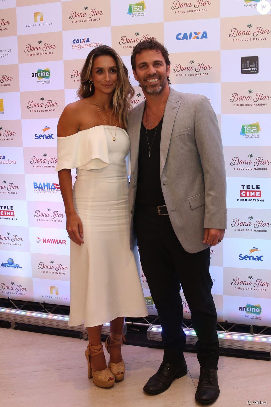 Marcelo Faria e Camila Lucciola se separaram após sete anos de casamento