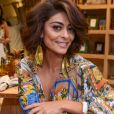 Juliana Paes ainda exaltou a importância da campanha de atrizes da TV Globo contra o assédio