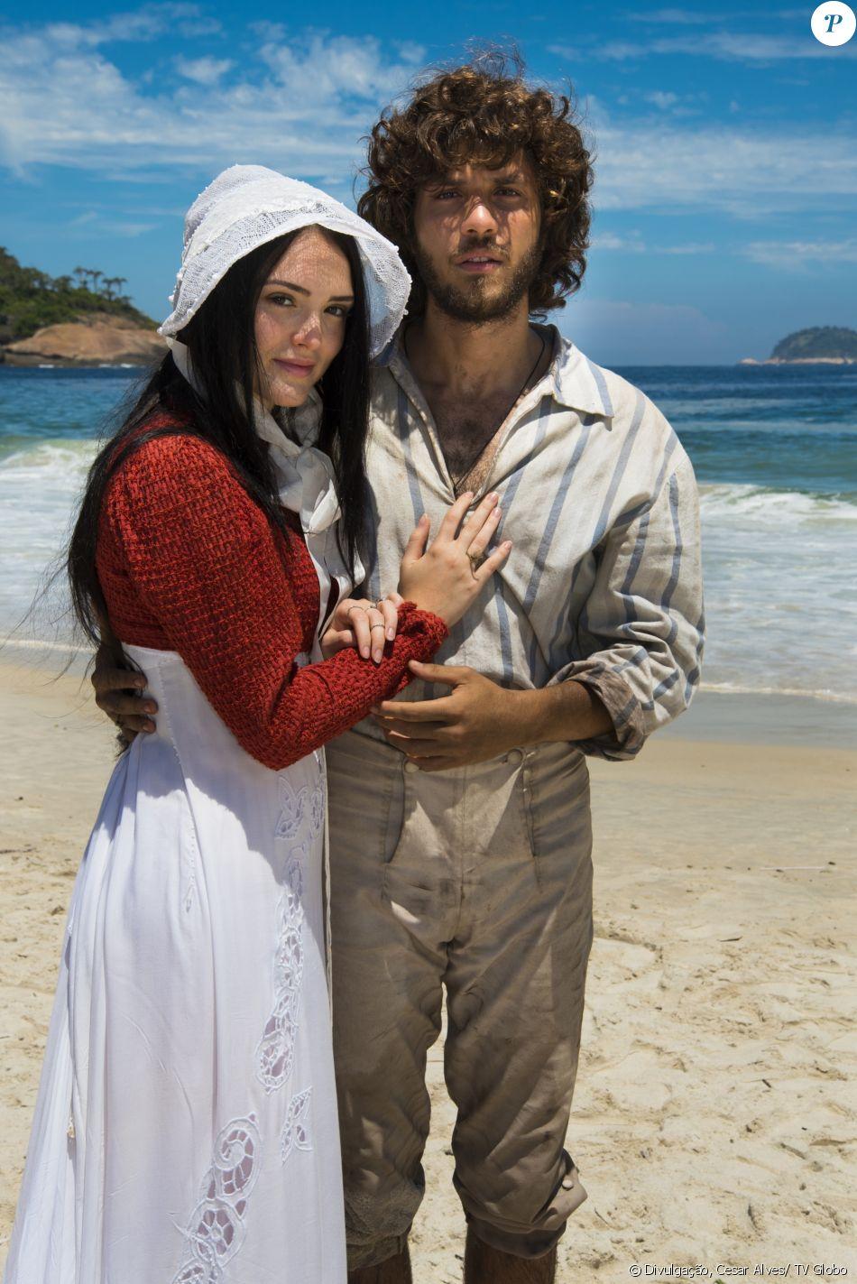 Joaquim (Chay Suede) e Anna (Isabelle Drummond) finalmente se reencontram, na novela 'Novo Mundo', a partir de 11 de abril de 2017