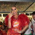 Sabrina Sato agita camarote de cervejaria em São Paulo