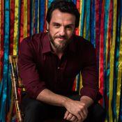 Rodrigo Lombardi define seu estilo de beleza: 'Pedreiro que faltava na sua vida'