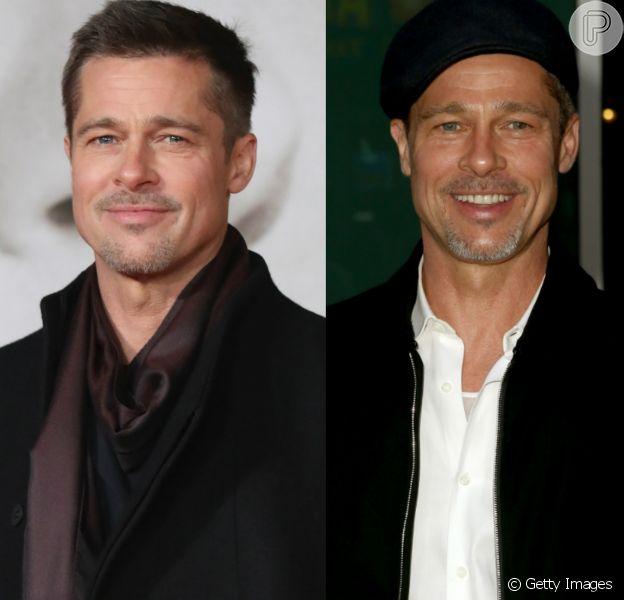 Brad Pitt chama atenção por aparência mais magra em première de filme