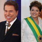 Silvio Santos ironiza Dilma Rousseff no 'Troféu Imprensa': 'Não é tão bonita'