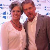 Mulher de José Mayer nega separação após assédio: 'Continua e continuará casada'