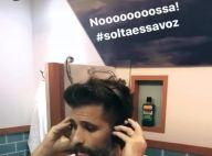 Bruno Gagliasso solta a voz em cabine musical e causa alvoroço entre fãs. Vídeo!