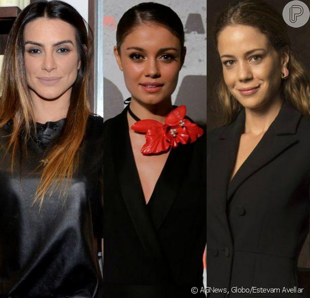 Cleo Pires, Sophie Charlotte e Leandra Leal reprovaram atitudes de Marcos, do 'BBB17', com post na web nesta segunda-feira, 10 de abril de 2017