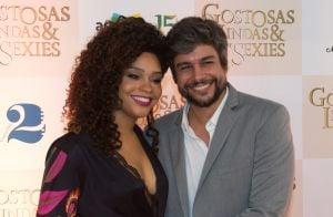 Grávida, Juliana Alves lança filme e exibe barriguinha em pré-estreia. Fotos!