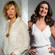 Marília Gabriela elogia fase solteira de Fátima Bernardes: 'Está maravilhosa'