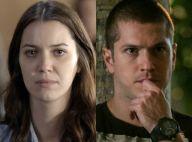 Novela 'Rock Story': Júlia é ameaçada por Alex, preso. 'Eu vou acabar com você'