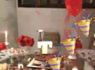 Grávida, Thais Fersoza ganha festa surpresa de Michel Teló: 'Arrasou, marido'